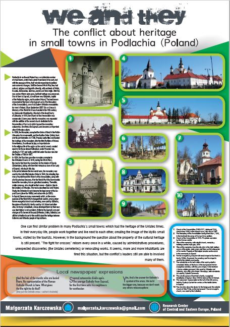 We and they. The conflict about heritage in small towns in Podlachia (Poland)
