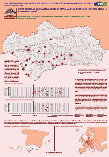 Urban heritage characterization of small and medium-sized historic cities in Andalusia (Spain)