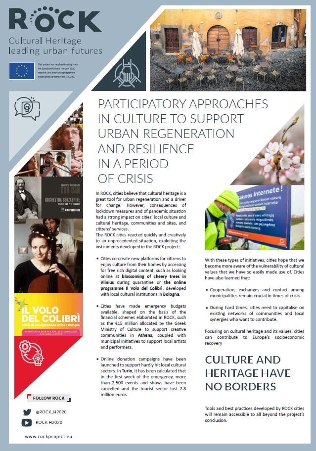ROCK - Cultural heritage leading urban futures