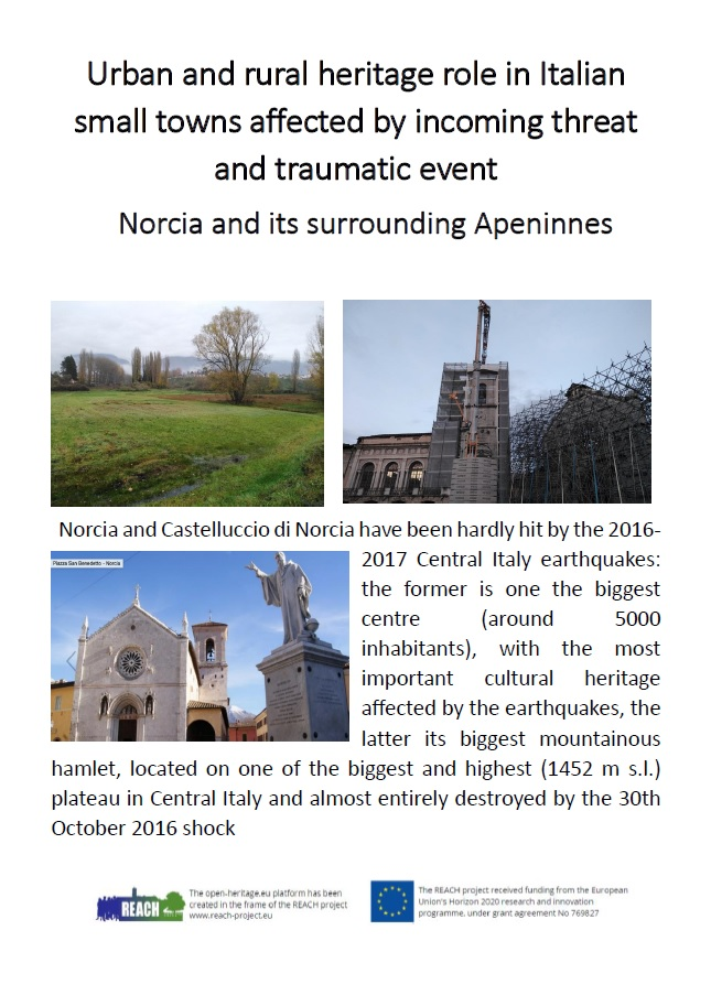 Urban and rural heritage role in Italian small towns affected by incoming threat and traumatic event (2)