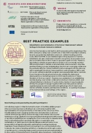 CULTURAL HERITAGE AS DEVELOPMENT STRATEGY IN SOCIAL INNOVATION PROJECTS