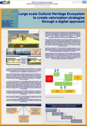 Large scale Cultural Heritage Ecosystem to create valorization strategies through a digital approach