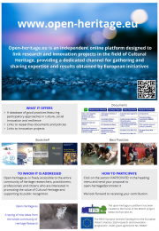 Open-Heritage, the online platform about heritage research
