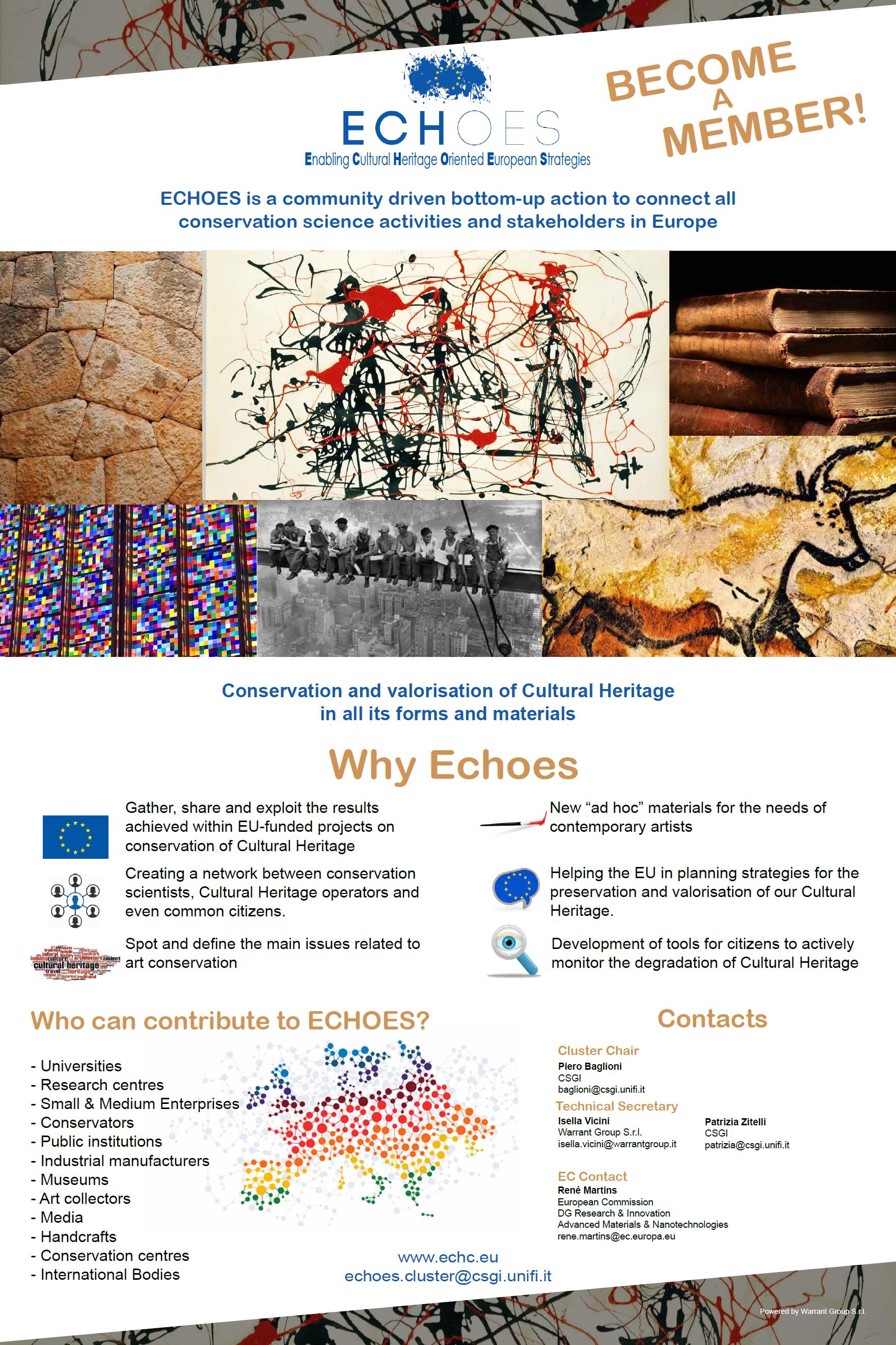 """ECHOES """"Enabling Cultural Heritage Oriented European Strategies"""""""