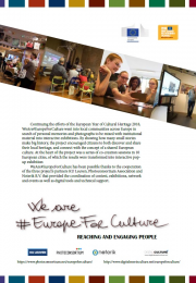 We are#Europe for culture