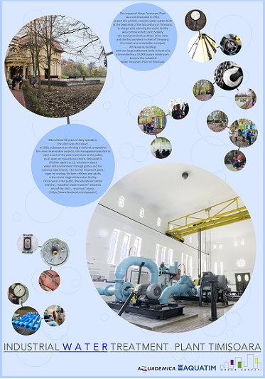 Former Industrial Water Plant Timisoara open to the public