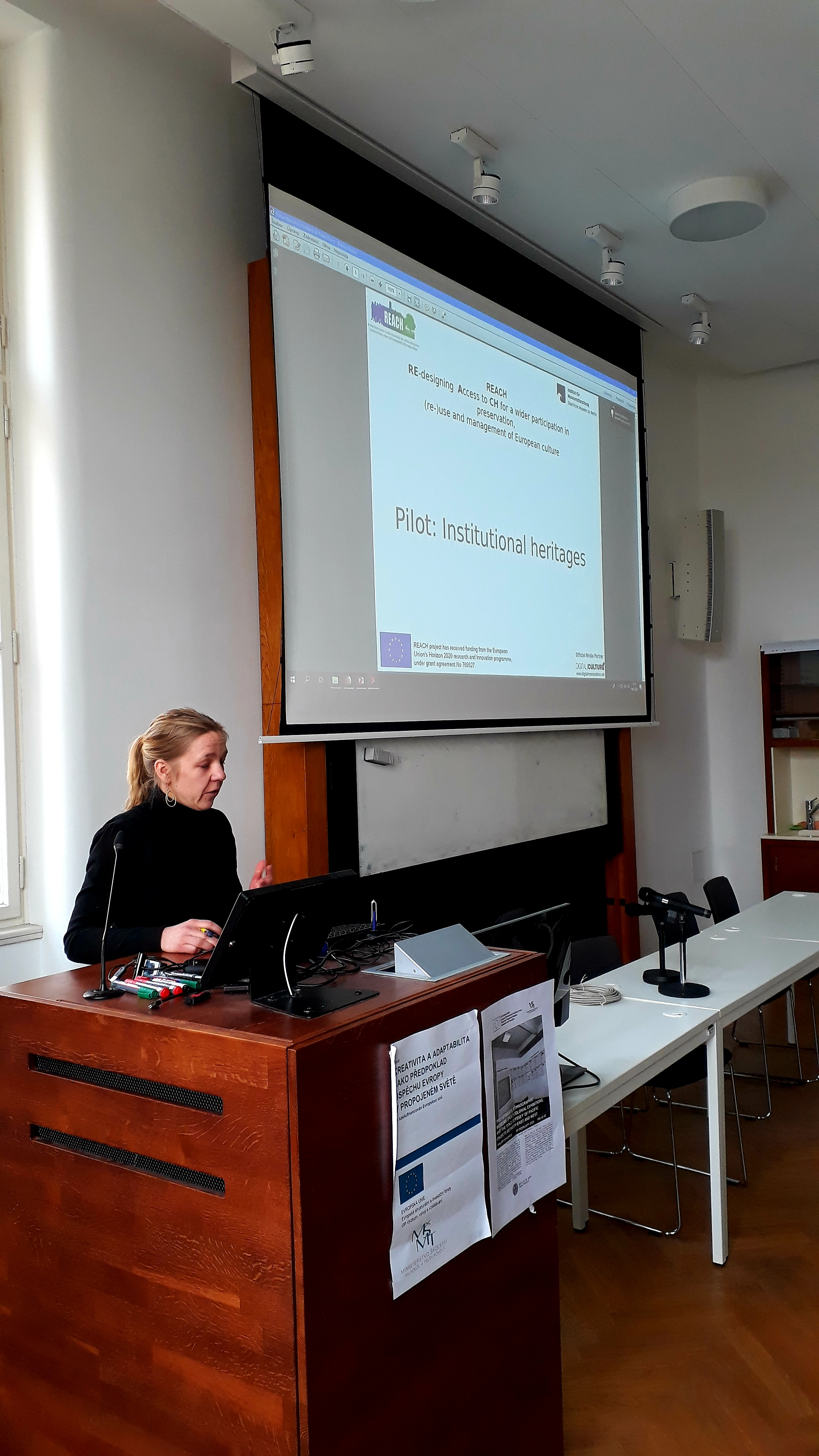 Institutions and heritage resilience – session chair Dr. Frederike Berlekamp