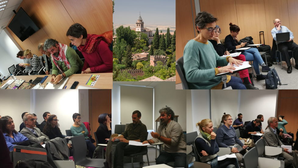 """PARTICIPATORY APPROACHES FOR TERRITORIAL COHESION"" WORKSHOP, GRANADA 26 NOVEMBER 2019"