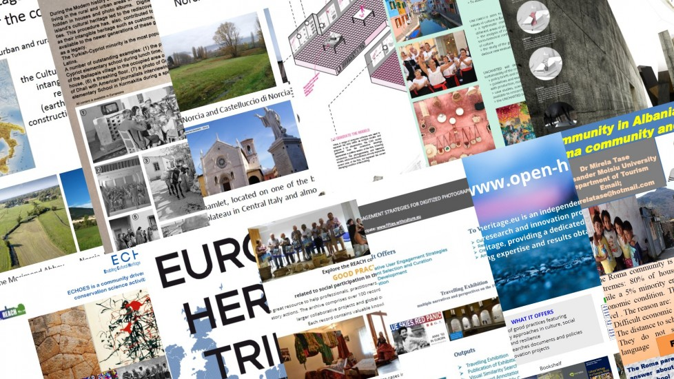 "THE DIGITAL GALLERY OF POSTERS AND VIDEOS IS ONLINE, PARTICIPATE! ""DESIGNING PARTICIPATION FOR CULTURAL HERITAGE"""